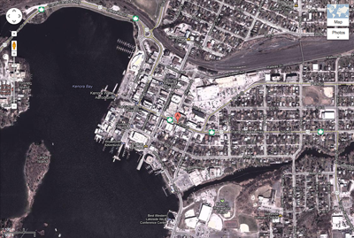Google Map - Weekend Adventure/Taggs, Kenora